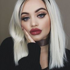 Pout-y in RIOT @taylorsteingold 👄 #limecrime