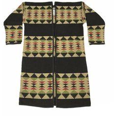 2d744af6bd33 Aboriginal Kimono Coat - Aesthetic Homage Kimono Coat