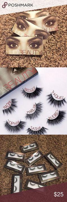 HUDA False Lashes Brand new, HUDA false lashes. Chose your look! Glue not included. Sephora Makeup False Eyelashes