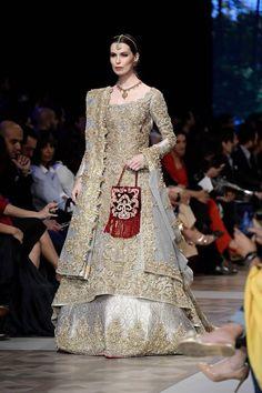 Nickie Nina Bridal Collection At Loreal Bridal Week 2017 | PK Vogue #weddingdresses  #motherofthebridedresses  #weddinggowns  #bridalwear  #redweddingdresses  #lehenga  #lehengacholi  #lehengadesign  #weddinglehenga  #pakistaniweddingdresses  #pakistanibridaldresses  #pakistanibridalwear  #pakistanibridal