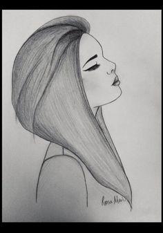 Sad Girl – drawing by Roosa Mari. Credit due to website InspireLeads. Sad Girl – drawing by Roosa Mari. Credit due to website InspireLeads. Tumblr Drawings Easy, Easy People Drawings, Easy Pencil Drawings, Amazing Drawings, Art Drawings Sketches, Love Drawings, Drawing People, Easy People To Draw, Easy Drawings Of Girls