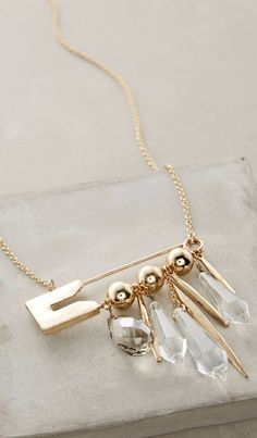 Pinned Pendant Necklace #anthroregistry