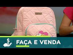 Manhã Leve   Aprenda a fazer uma linda mochila com Fabiana Oliver - 13 de setembro de 2017 - YouTube