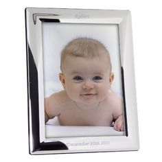 Personalized Engraved Portrait Silver Frame  Engraved Free  Keepsake Frame -- Check out the image by visiting the link.