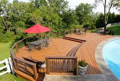 Click to see more ideas from Signature Decks in Maumee, Ohio -Bowling Green, Ohio Pool Deck Project