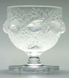 Kristal objecten door Lanique ontworpen en geproduceerd begin 20ste eeuw