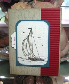 Father's Day - Sail Away by micheyme - Cards and Paper Crafts at Splitcoaststampers