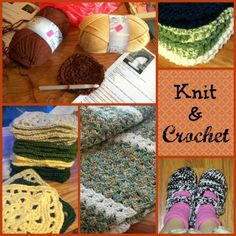 Seasonal Crafting - Knit and Crochet / Apron Strings & other things