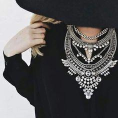 Collar/#estilonegro hermoso