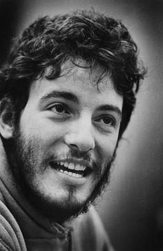 Bruce Springsteen, 1973.