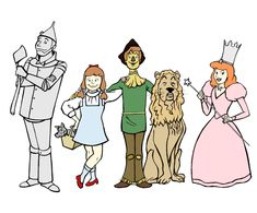 wizard of oz characters symbolism | WIZARD OF OZ cartoon - See best of PHOTOS of the Wizard of Oz films