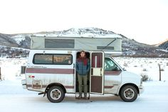 Steve Dilk and his 1997 Chevy Astro Provan Tiger GT