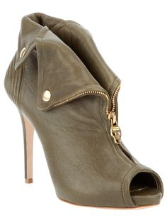 ☆ Alexander McQueen Fold Over Shoe Boot ☆