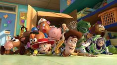"""CineMash's """"Toy Story"""" trailer in Batman v. Superman style merges the audio from """"Batman v Superman: Dawn of Justice,"""" with the visuals from """"Toy Story. Film Pixar, Pixar Movies, Disney Movies, Marvel Movies, Disney Pixar, Walt Disney, Disney Animation, Disney Parks, Toy Story Movie"""