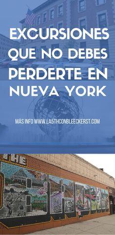 ¿Preparando tu viaje a Nueva York? Las mejores excursiones para que aproveches tu tiempo al máximo. #NuevaYork #NYC #Manhattan #NuevaYorkTurismo