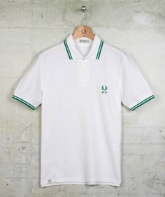 c30f0230f 60 years F.P polo Mens Fred Perry, Fred Perry Polo, Green Polo Shirts,