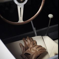 Bringing back the driving gloves. In Memory of Ferdinand Porsche via: www.habituallychic.com