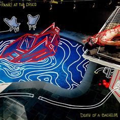 Image result for panic at the disco death of a bachelor album cover