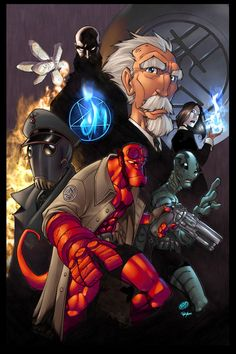 GreatLp's Hellboy by pulyx.deviantart.com on @DeviantArt