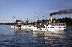 Steamships Blidösund and Norrskär - Stockholm archipelago