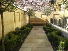 Carlyle Square | Projects | Richard Miers - Garden Design Square, Garden Design, Sidewalk, Designers, Landscape, Projects, Log Projects, Landscape Paintings, Backyard Landscape Design