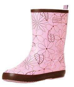 Womens Girls Cute Floral Mid calf Waterproof Rain Boot Anti-Skidding -- You can find out more details at the link of the image.