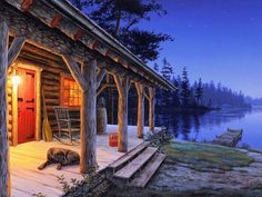 Darrell Bush, Love the cabin and the PUP.