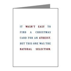 Atheist Christmas card...BEST