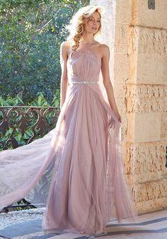 8b121b5046e Hayley Paige Occasions. Grecian Bridesmaid ...