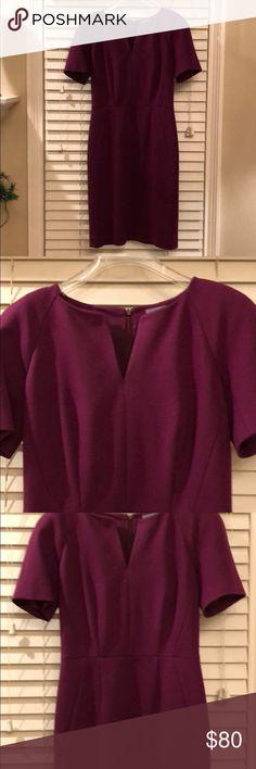 Plum classifies entier sheath dress Plum colored sheath dress from classiques entire Classiques Entier Dresses