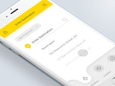Taxi App by Thunderrise #Design Popular #Dribbble #shots