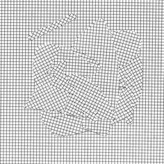 illusion pattern shape