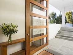 20 glass front door designs – contemporary style of living