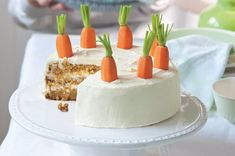 Mrkvový dort | Apetitonline.cz My Favorite Food, Favorite Recipes, Jenny Cookies, Thing 1, Chocolate Truffles, Sweet Cakes, Carrot Cake, Sweet Recipes, Cheesecake