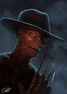 Freddy Krueger-A Nightmare On Elm Street............