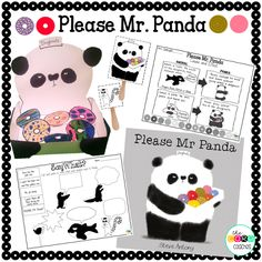 Adorable story that teachers manners- Please Mr. Panda