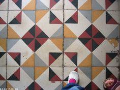 Hidraulic Tiles / Azulejo Hidráulico (Casa Varela - Bairro Alto - Lisboa)