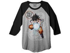 Dragon Ball Z Goku Fireball Raglan Shirt http://dragonballzmerchandise.com/product/dragon-ball-z-goku-fireball-raglan-shirt http://dragonballzmerchandise.com/category/dragon-ball-z-clothing