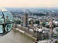 Panoramic from the London Eye
