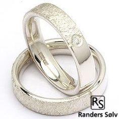 2 trouwringen van RS of Scandinavia in zilver