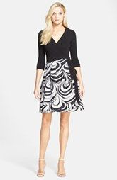 Diane von Furstenberg 'Jewel' Print Wrap Dress