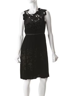 Floral Velvet Dress :}} Gorgeous embroidery :}}