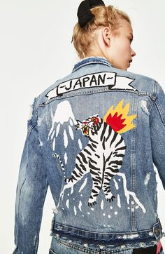Japan denim jacket by Ricardo Cavolo