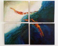 Frauke Nees — ART River, Painting, Art, Art Production, Painting Art, Art Background, Kunst, Paintings, Performing Arts