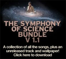 Symphony of Science...for all of us Music and Science Geeks.  Featuring Carl Sagan, Richard Feynman and more.