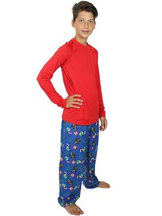 These super cool pajama bottoms are sure to bring a smile to any boy s  face. This sleepwear pant features graphics of the popular Lego Batman  characters  ... 344cb8155af