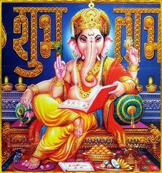 Shree Ganesh, Shiva Art, Ganpati Bappa, Divine Mother, Lord Ganesha, Our Solar System, Indian Gods, Gods And Goddesses, Krishna