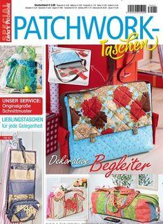 Patchworktaschen - Dekorative Begleiter  Jetzt in Lenas Patchwork Special