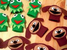muppets - títere dedo