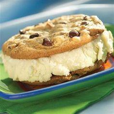 Chocolate Chip Ice Cream Sandwiches from Pillsbury Baking®